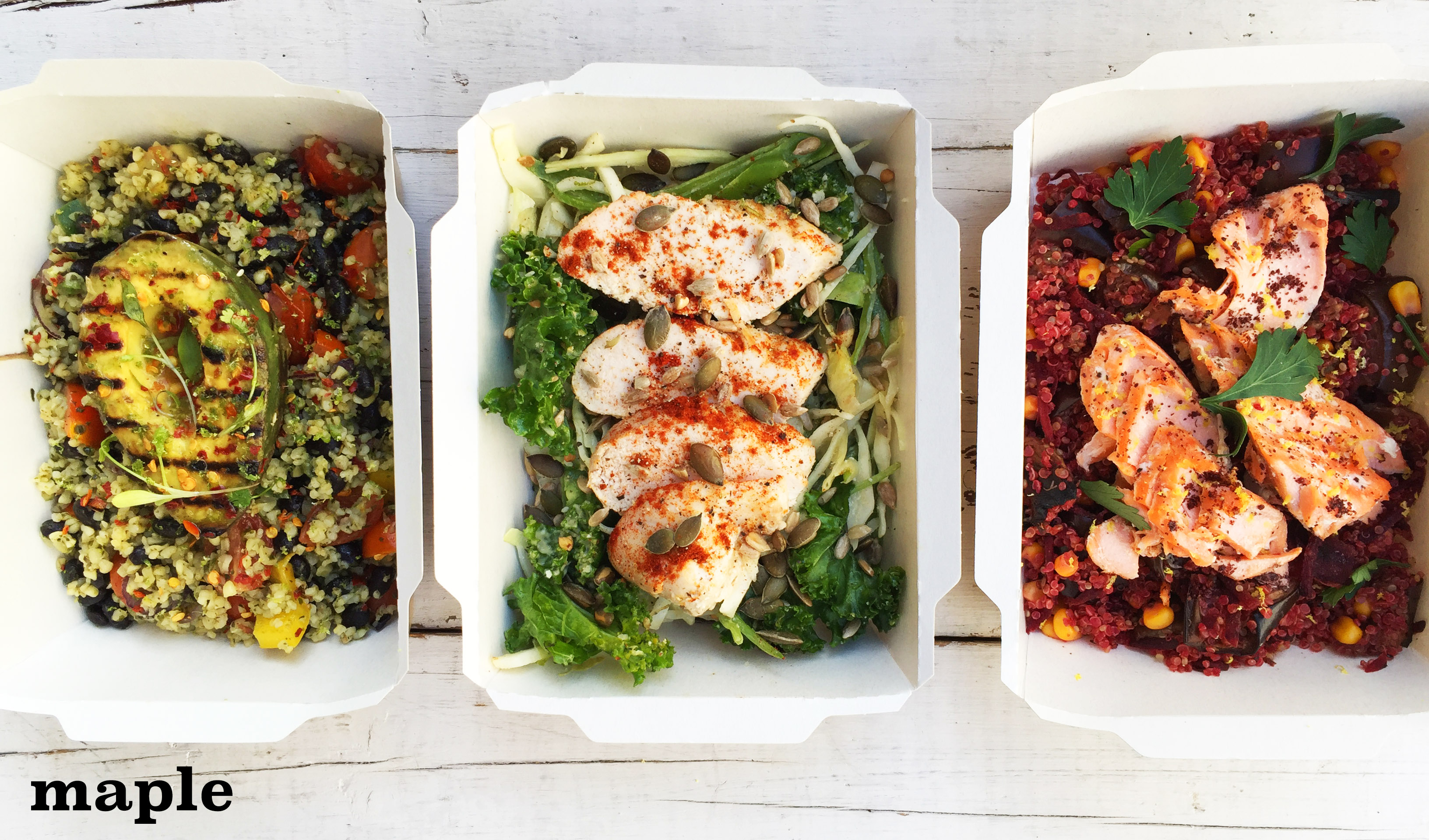 Lunchtime Salads from Feedr