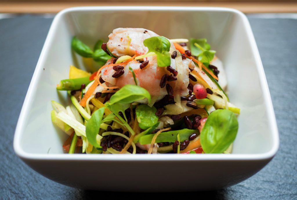 Recipe of the Week: Venere Rice Prawn Salad by Doppiozero