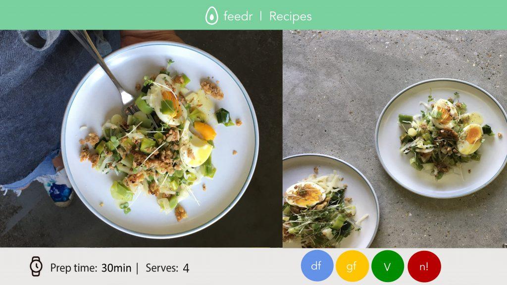 Leek, Kraut + Eggs by HMF DIGITAL