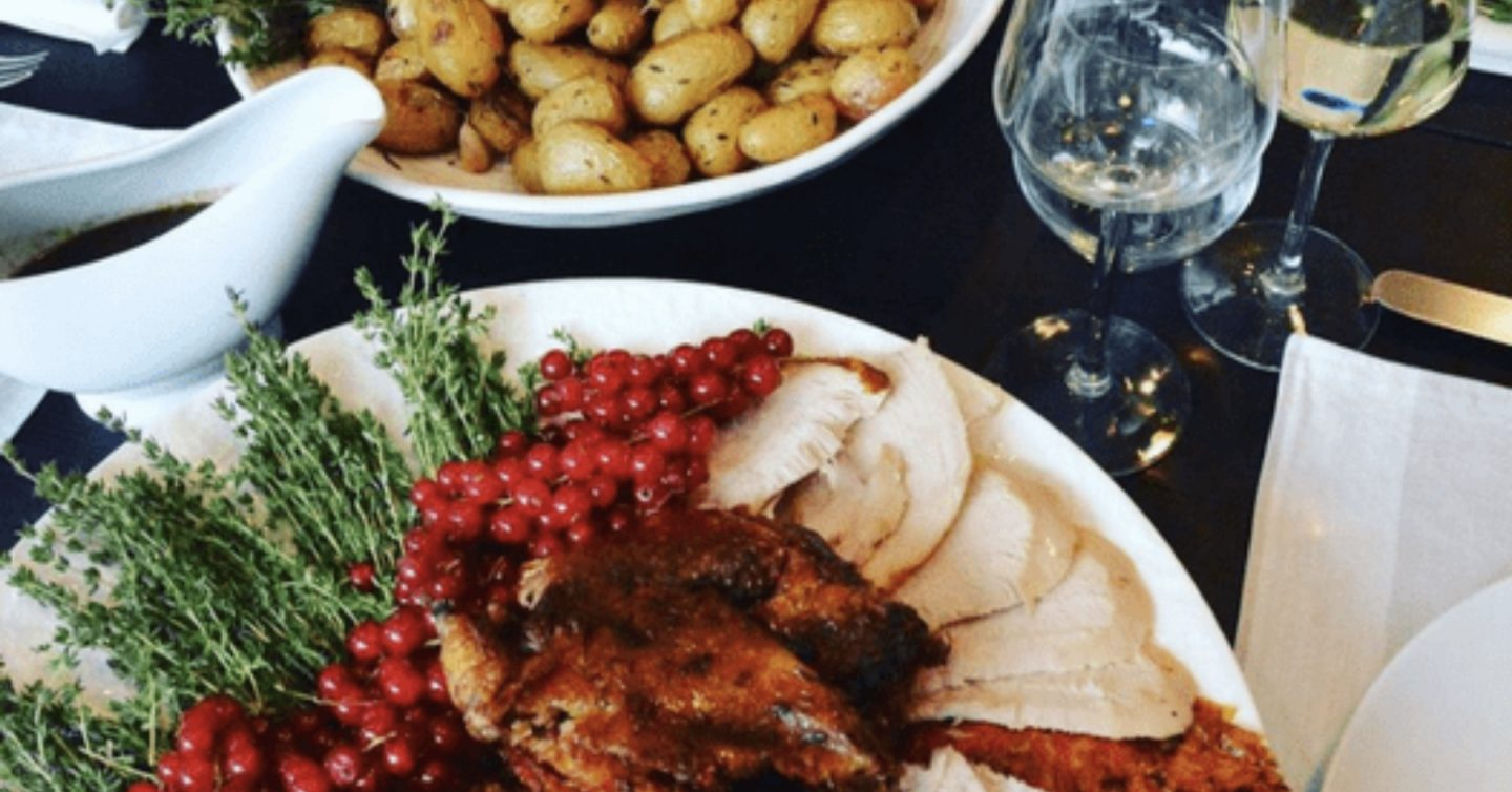 Send an entire Christmas dinner - Feedr Home Delivery