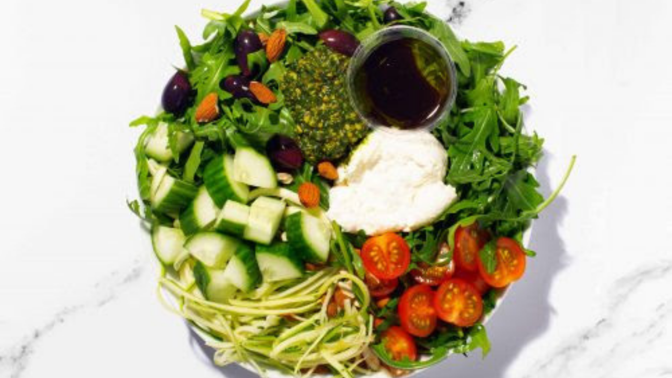 Olive and Squash's Italian Summer (veg) - The best salads in London