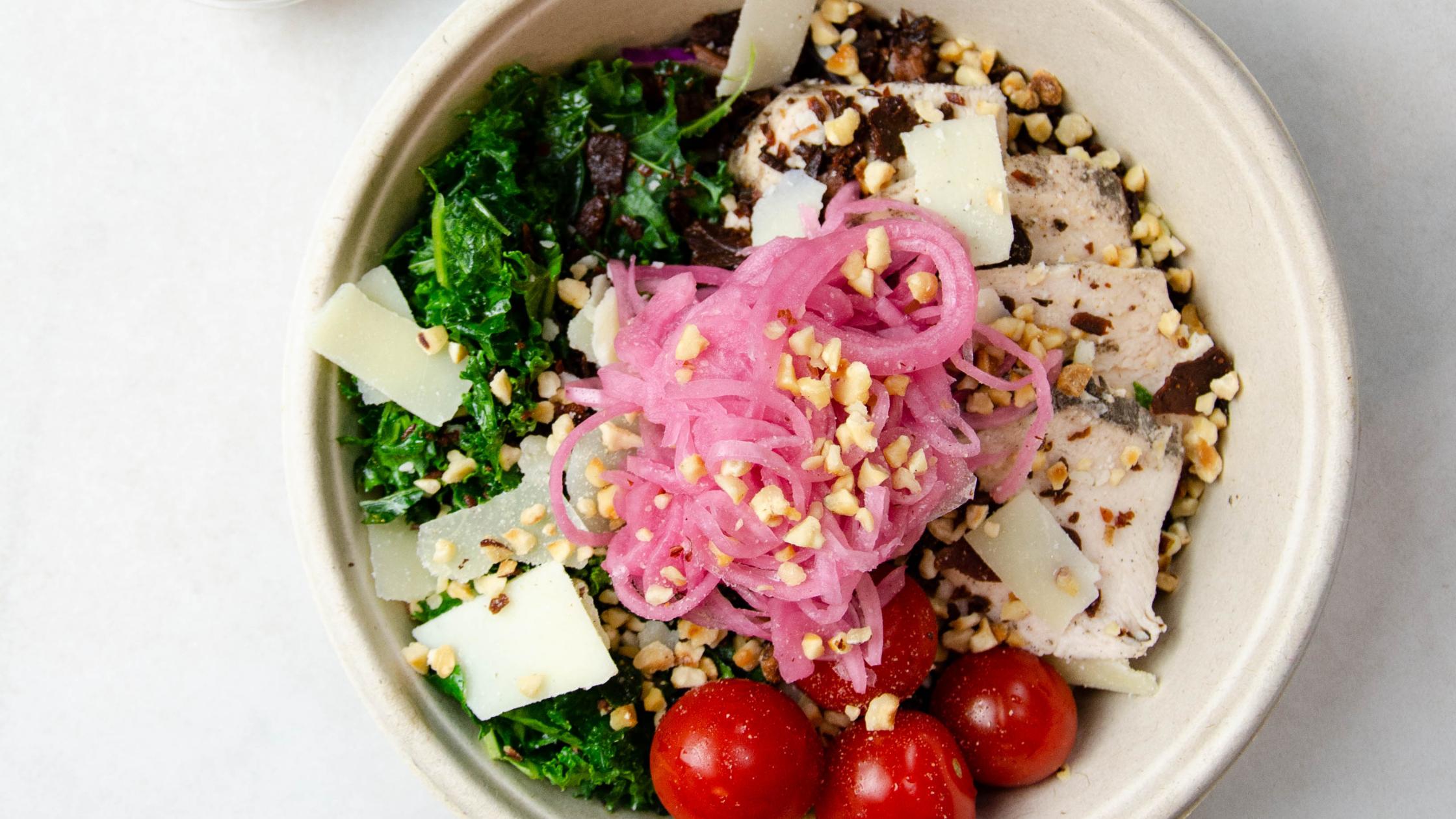 Urban Green's Urban Caesar - best salads in london