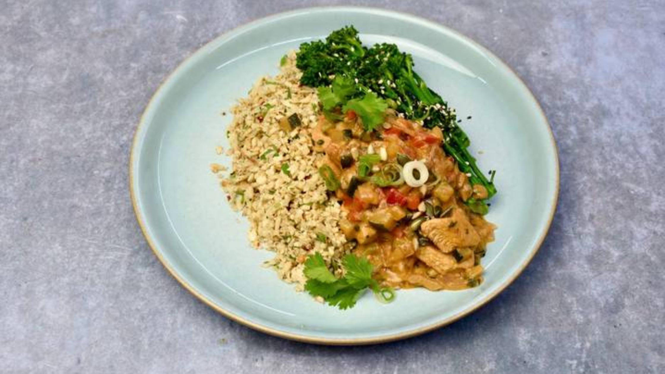 Healthy vegan meal from Macro Foods