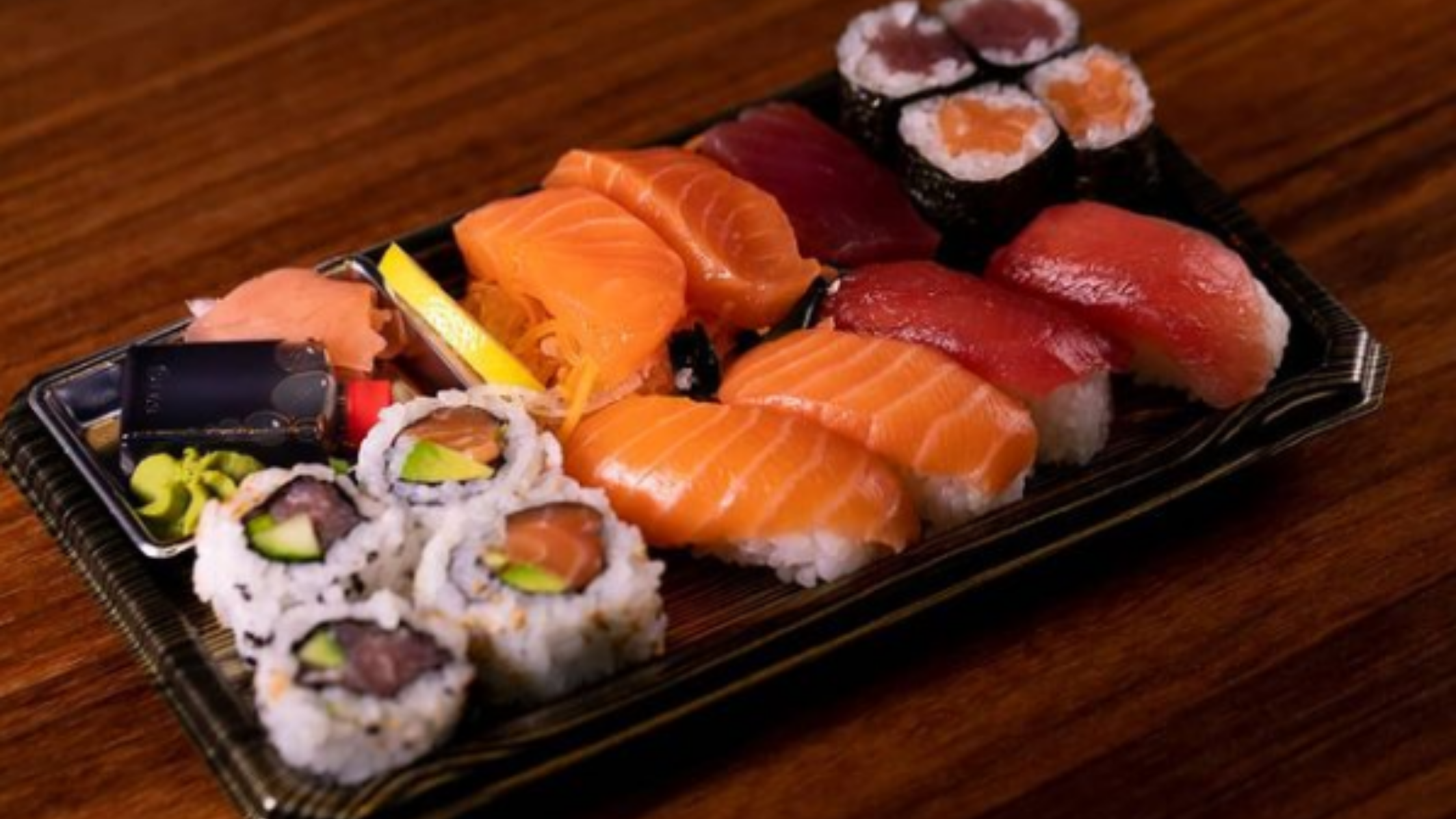 Healthy sushi meal from K10